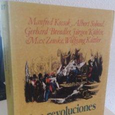 Libros de segunda mano: LAS REVOLUCIONES BURGUESAS - AA.VV. Lote 209761522