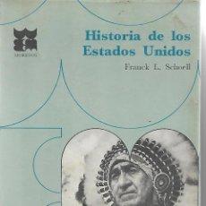 Libros de segunda mano: HISTORIA DE LOS ESTADOS UNIDOS.. Lote 210448511