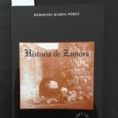 Libros de segunda mano: HISTORIA DE ZAMORA, HERMINIO RAMOS PEREZ. Lote 210935367