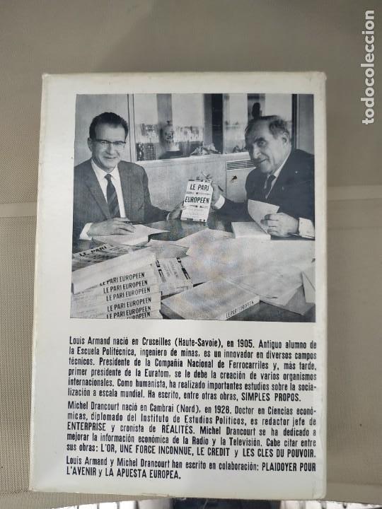 Libros de segunda mano: La Apuesta Europea - Armando y Drancourt - Foto 2 - 211758812