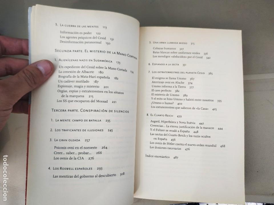 Libros de segunda mano: Los Expedientes Secretos - Manuel Carballal. Buscado - Foto 6 - 211760236