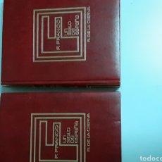 Libros de segunda mano: 2 TOMOS F. FRANCO ,UN SIGLO DE ESPAÑA, AÑO 1973. Lote 212424640