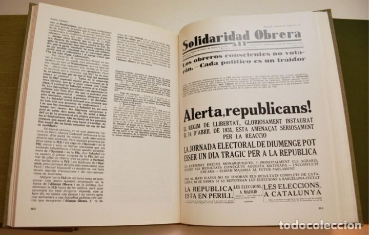 Libros de segunda mano: SABADELL, INFORME DE L'OPOSICIÓ (6 VOLUMS) - Foto 7 - 212583411