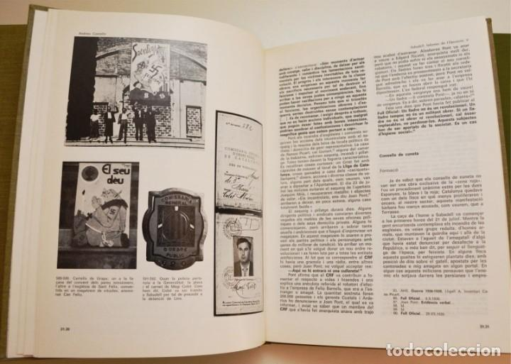 Libros de segunda mano: SABADELL, INFORME DE L'OPOSICIÓ (6 VOLUMS) - Foto 8 - 212583411