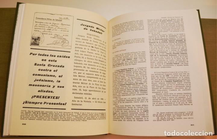 Libros de segunda mano: SABADELL, INFORME DE L'OPOSICIÓ (6 VOLUMS) - Foto 10 - 212583411
