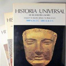 Libros de segunda mano: HISTORIA UNIVERSAL EN SUS MOMENTOS CRUCIALES (3 VOL. - COMPLETO) - MADRID 1971 - ILUSTRADO. Lote 212742051
