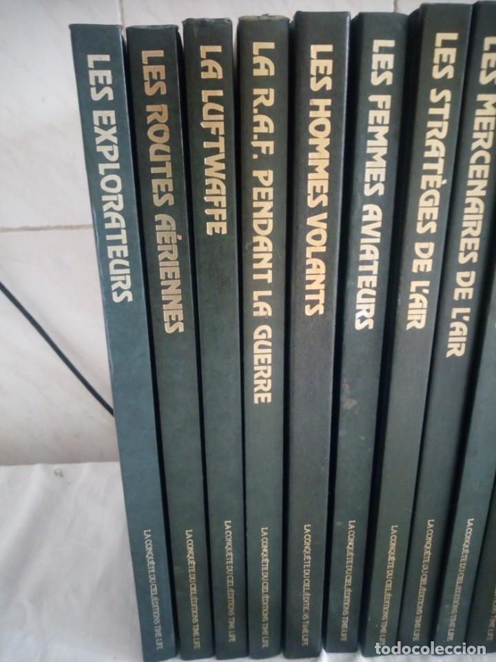 Libros de segunda mano: La Conquête du Ciel conjunto de 20 volúmenes de la serie Time-Life,1983,frances. - Foto 6 - 213440971