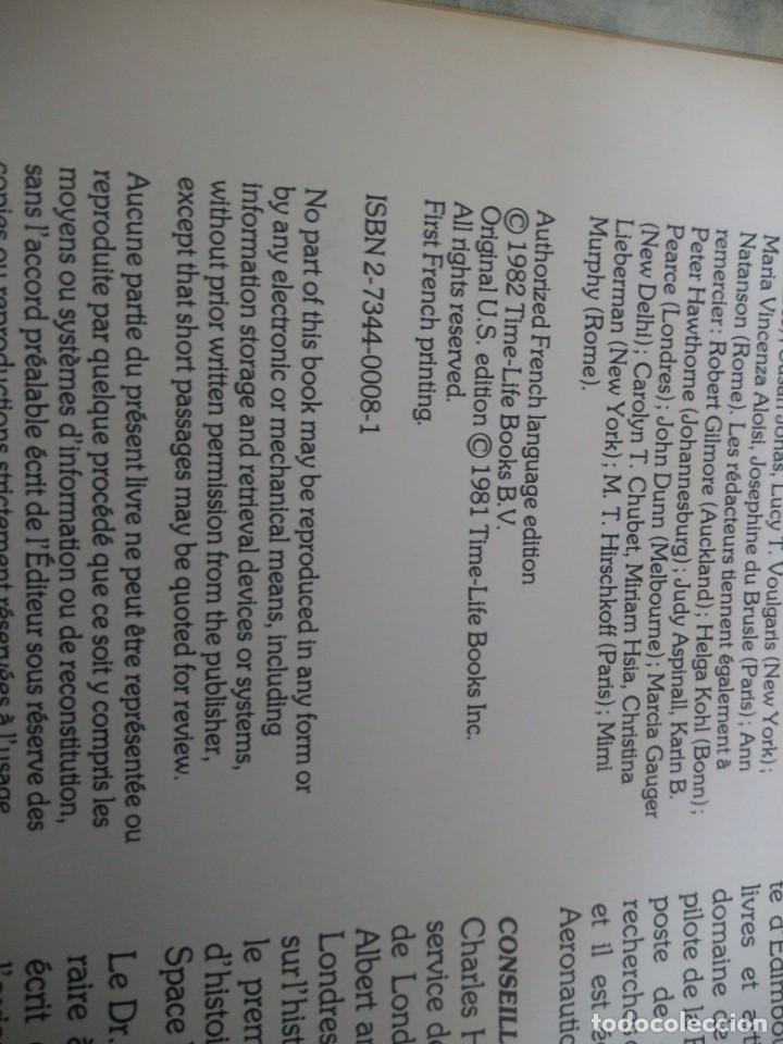 Libros de segunda mano: La Conquête du Ciel conjunto de 20 volúmenes de la serie Time-Life,1983,frances. - Foto 17 - 213440971