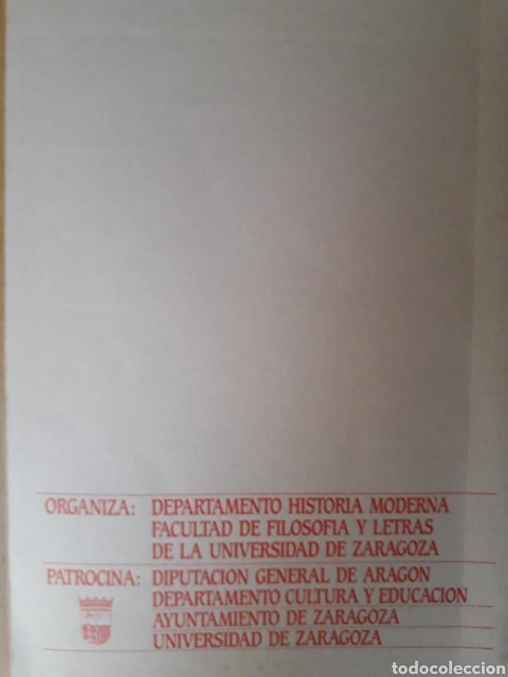 Libros de segunda mano: Encuentros sobre la Inquisición en Aragón, M González, Zaragoza, 1985 - Foto 3 - 213445623