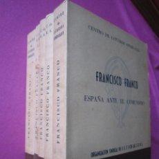 Libros de segunda mano: FRANCISCO FRANCO CENTRO DE ESTUDIOS SINDICALES J.O.N.S 5 LIBROS FIRMADOS AUTOR.. Lote 213784437
