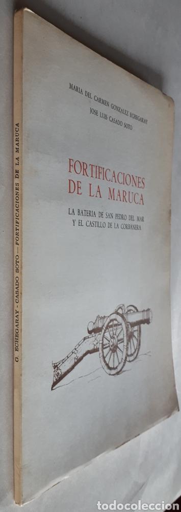 Libros de segunda mano: FORTIFICACIONES DE LA MARUCA. La Batería de San Pedro del Mar y el Castillo de la Corbanera. 1977 - Foto 6 - 214013135