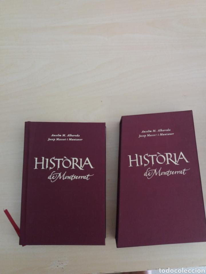 Libros de segunda mano: Historia de Montserrat Abadía de Montserrat 2010 - Foto 3 - 214080387