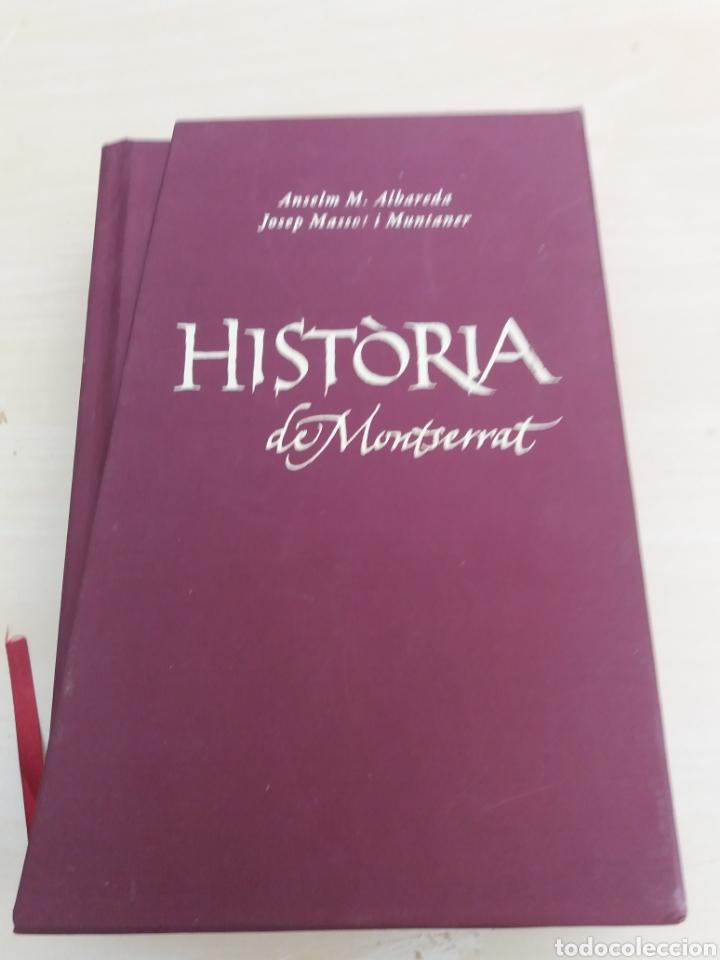 HISTORIA DE MONTSERRAT ABADÍA DE MONTSERRAT 2010 (Libros de Segunda Mano - Historia Moderna)