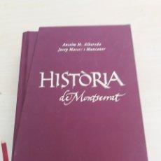 Libros de segunda mano: HISTORIA DE MONTSERRAT ABADÍA DE MONTSERRAT 2010. Lote 214080387