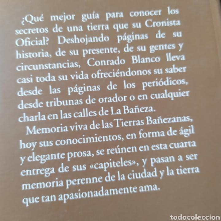 Libros de segunda mano: Capiteles para la historia Bañezana León Conrado Blanco González - Foto 11 - 215676938