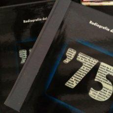 Libros de segunda mano: ANUARIO 1975, CON ESTUCHE Y SINGLE, IMPECABLE ESTADO.. Lote 215802031