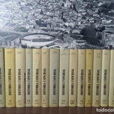 Libros de segunda mano: HISTORIA UNIVERSAL. EUNSA. 14 TOMOS. EDICIONES UNIVERSIDAD DE NAVARRA. 1979. PAMPLONA.. Lote 216723475