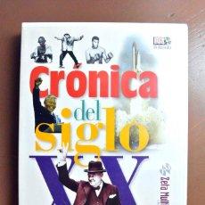 Libros de segunda mano: Nº 5 CRONICA DEL SIGLO XX 1940-1949 ,CD-ROM MULTIMEDIA. Lote 216724937