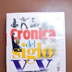 Libros de segunda mano: Nº 1 CRONICA DEL SIGLO XX 1900-1909 ,CD-ROM MULTIMEDIA. Lote 216725398