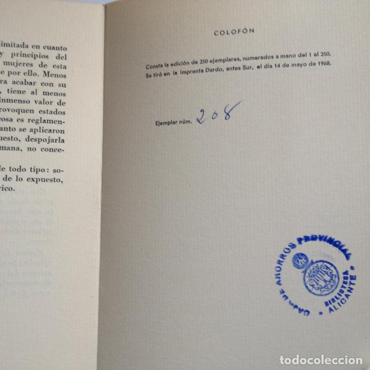 Libros de segunda mano: APUNTES PARA LA HISTORIA DE LAS MANCERIAS DE MALAGA -AUTOR A. CAFFARENA - CONSTA DE 250 EJEMP. 208 - Foto 4 - 217087377