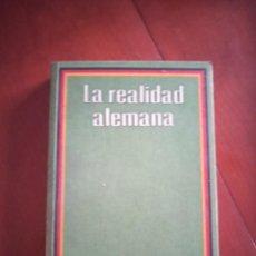 Libros de segunda mano: LA REALIDAD ALEMANA. Lote 217284491