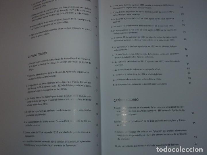 Libros de segunda mano: Los Hitos de un Histórico Conflicto Territorial entre Cantabra y País Vasco El Caso Agüera y Trucios - Foto 7 - 217567525