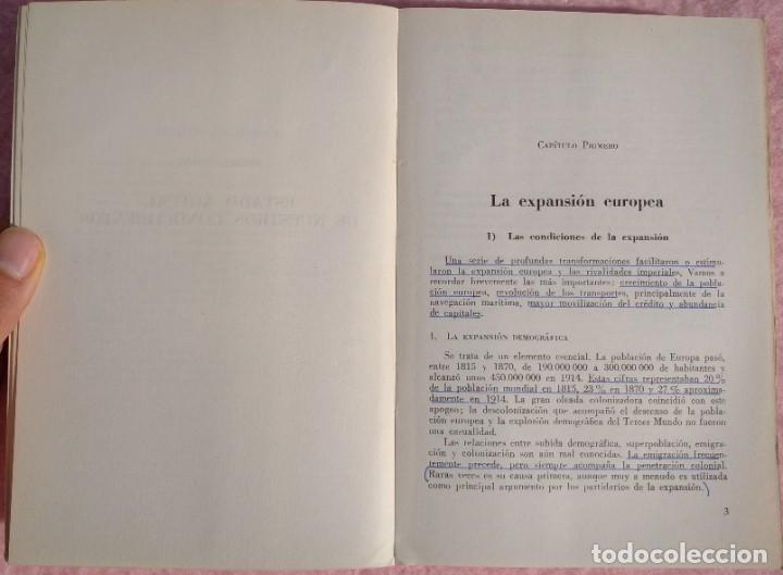 Libros de segunda mano: Expansión Europea y Descolonización – Jean Louis Miège (Labor, 1980) /// COLONIALISMO COLONIZACIÓN - Foto 5 - 218101292