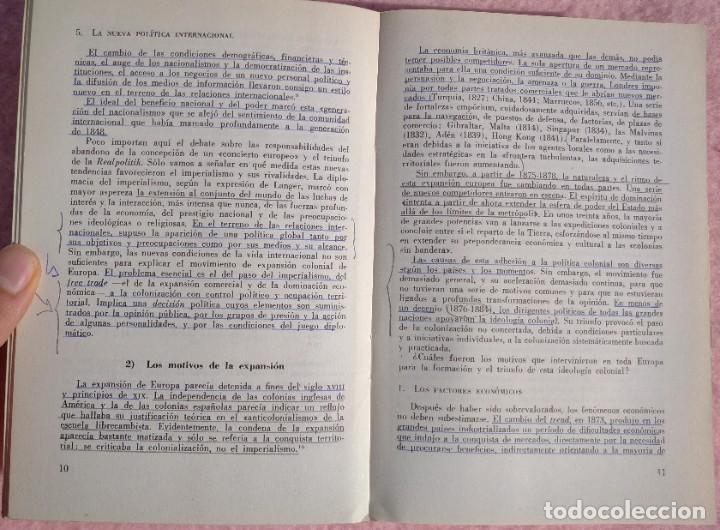 Libros de segunda mano: Expansión Europea y Descolonización – Jean Louis Miège (Labor, 1980) /// COLONIALISMO COLONIZACIÓN - Foto 9 - 218101292