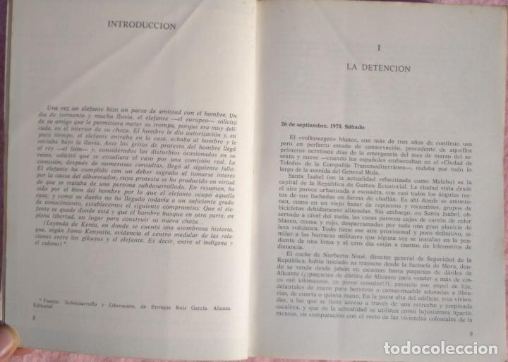 Libros de segunda mano: Guinea, Materia Reservada – Rafael Fernández (Sedmay, 1976) /// ÁFRICA COLONIALISMO COLONIZACIÓN - Foto 4 - 218102303