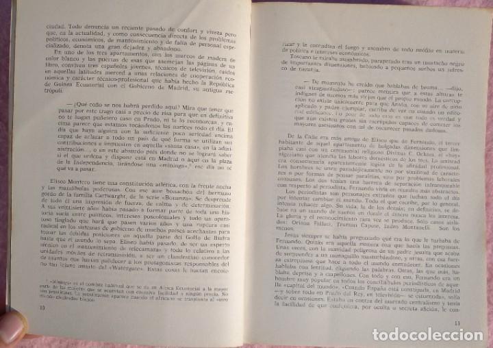 Libros de segunda mano: Guinea, Materia Reservada – Rafael Fernández (Sedmay, 1976) /// ÁFRICA COLONIALISMO COLONIZACIÓN - Foto 5 - 218102303