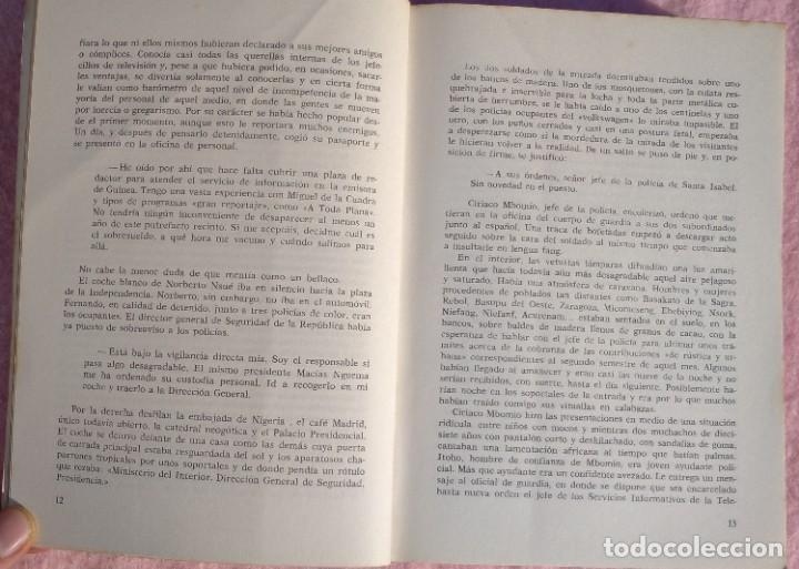 Libros de segunda mano: Guinea, Materia Reservada – Rafael Fernández (Sedmay, 1976) /// ÁFRICA COLONIALISMO COLONIZACIÓN - Foto 6 - 218102303