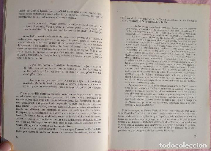 Libros de segunda mano: Guinea, Materia Reservada – Rafael Fernández (Sedmay, 1976) /// ÁFRICA COLONIALISMO COLONIZACIÓN - Foto 7 - 218102303