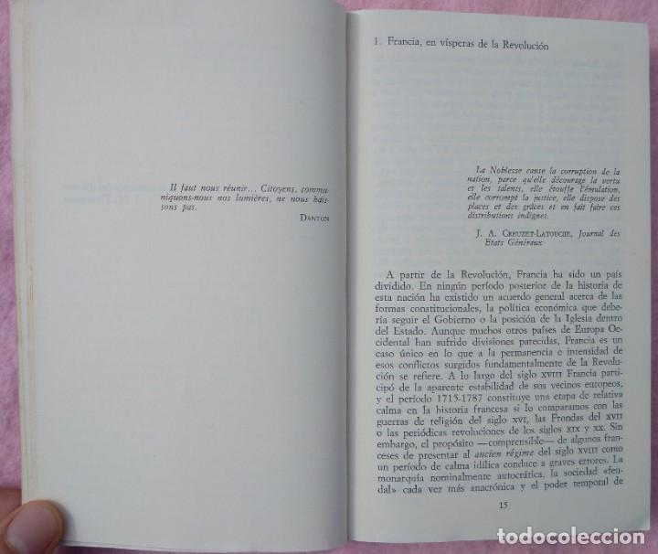 Libros de segunda mano: Historia Social de la Revolución Francesa – Norman Hampson (Alianza, 1970) /// NAPOLEÓN EUROPA - Foto 4 - 218102617