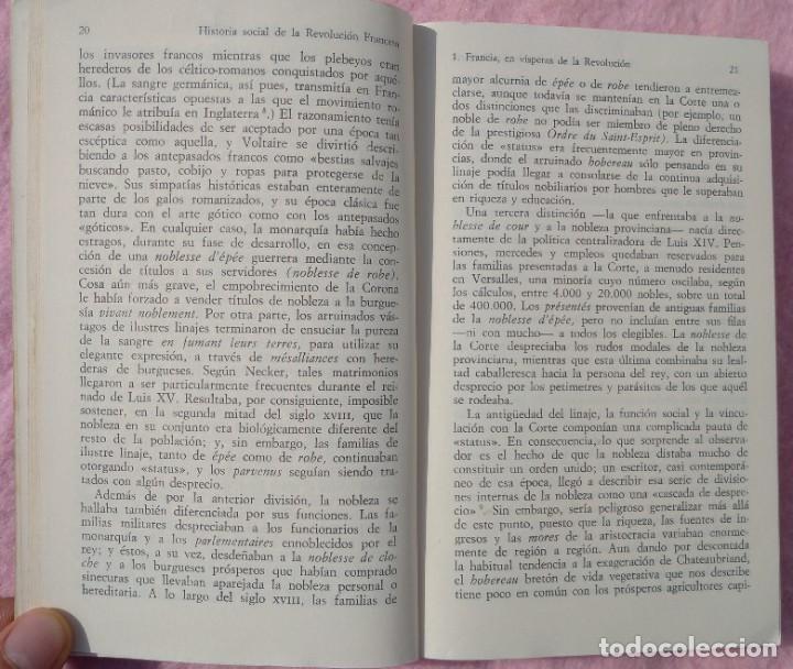 Libros de segunda mano: Historia Social de la Revolución Francesa – Norman Hampson (Alianza, 1970) /// NAPOLEÓN EUROPA - Foto 7 - 218102617