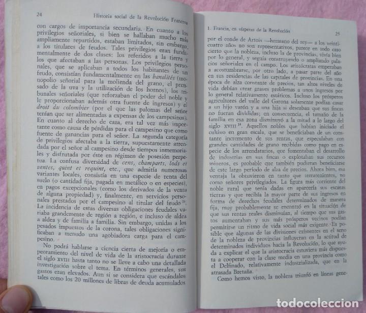 Libros de segunda mano: Historia Social de la Revolución Francesa – Norman Hampson (Alianza, 1970) /// NAPOLEÓN EUROPA - Foto 9 - 218102617