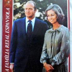 Libros de segunda mano: LIBRO LA FAMILIA REAL ESPAÑOLA, PUNTO EDITORIAL-CAJA DE AHORROS DE CATALUÑA, 1983. Lote 218606867
