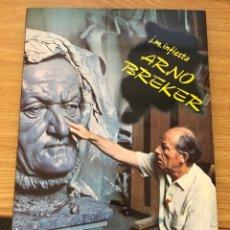 Libros de segunda mano: ARNO BREKER. EDICIONES NUEVO ARTE THOR. Lote 219052115