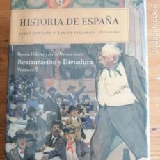 Libros de segunda mano: RESTAURACIÓN Y DICTADURA: HISTORIA DE ESPAÑA VOL. 7 2009 DE JAVIER MORENO Y RAMÓN VILLARES.PRECINT. Lote 219290003