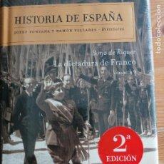 Libros de segunda mano: 'HISTORIA DE ESPAÑA. LA DICTADURA DE FRANCO. VOL. 9'. BORJA DE RIQUER CRITICA PRECINTADO. Lote 219290048