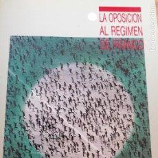 Libros de segunda mano: LA OPOSICION AL RÉGIMEN DE FRANACO. 2 TOMOS TUSELL, ALTED Y ABDON MATEOS. UNED.1990 482PP Y 686PP. Lote 219354012