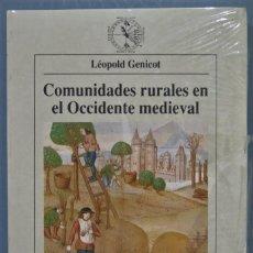 Libros de segunda mano: COMUNIDADES RURALES EN EL OCCIDENTE MEDIEVAL. GENICOT. PRECINTADO. Lote 221496920