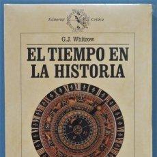 Libros de segunda mano: EL TIEMPO EN LA HISTORIA. WHITROW. PRECINTADO. Lote 221497028