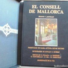 Libros de segunda mano: EL CONSELL DE MALLORCA. HISTÒRIA I PATRIMONI 2001 PRESENTACIÓ MARIA ANTÒNIA MUNAR FOTO. Lote 221594581