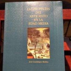 Libros de segunda mano: LAS PROFECIAS DEL ANTICRISTO EN LA EDAD MEDIA-J.GUADALAJARA MEDINA-GREDOS-1996. Lote 221604610