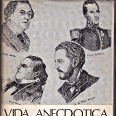 Libros de segunda mano: VIDA ANECDOTICAS DE VENEZOLANOS. Lote 221626651