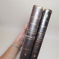 Libros de segunda mano: BIOGRAFÍA DE LA VILLA Y PUERTO DE GIJÓN. JOAQUÍN A. BONET. DEDICADO POR AUTOR. GIJÓN. 1967-1968. Lote 222066320