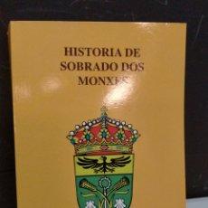 Libros de segunda mano: CABANAS LÓPEZ - HISTORIA DE SIBRADO DOS MONXES. Lote 222070687