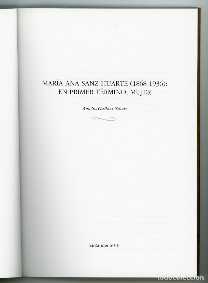 Libros de segunda mano: María Ana Sanz Huarte (1868-1936), por Amelia Guibert Navaz - Foto 2 - 222314040