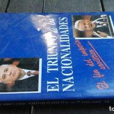 Libros de segunda mano: EL TRIUNFO DE LAS NACIONALIDADES - HELENE CARRERE D´ENCAUSSE - RIALP X403. Lote 222369613