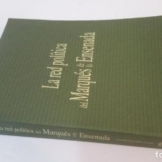 Libros de segunda mano: 2004 - CRISTINA GONZÁLEZ CAIZÁN - LA RED POLÍTICA DEL MARQUÉS DE LA ENSENADA. Lote 222536170